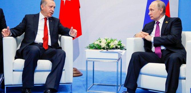 Putin ve Erdoğan Suriye'yi görüştü