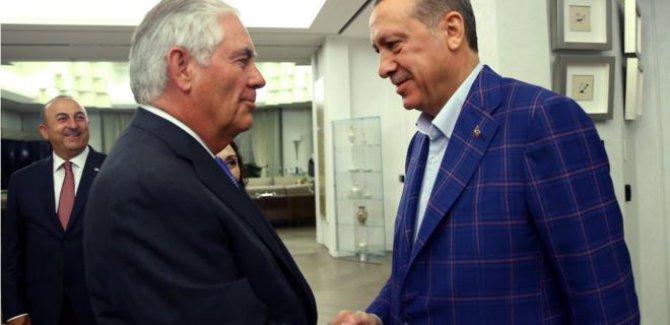 Tillerson: Türkiye ile karşılıklı güveni kaybettik