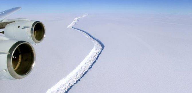 Antarktika'dan devasa kopuş
