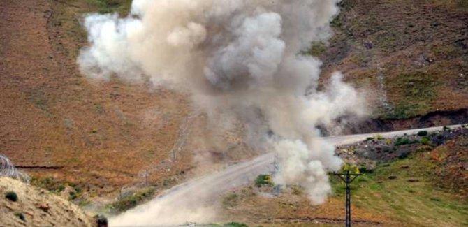 Hakkari'de mayın patlaması