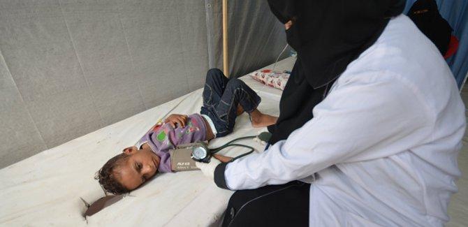 Yemen'deki kolera salgınında ölü sayısı bin 847'ye ulaştı