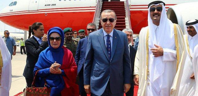 Erdoğan Katar'da