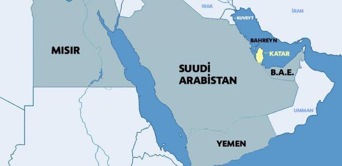 Katar'a ambargo uygulayanlar terör listesini genişletti