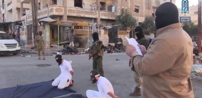 El Nusra,IŞİD militanlarını infaz etti