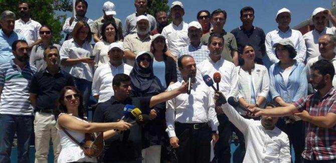 HDP, 'Vicdan ve Adalet Nöbeti'ni başlattı