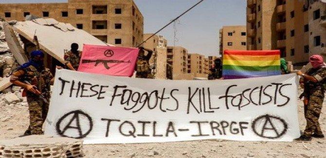 Bir bu eksikti LGBT'liler Rojava'da askeri birlik kurdu