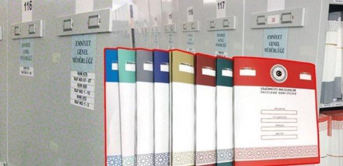 OHAL Komisyonu dosyaları 9 renge ayırdı
