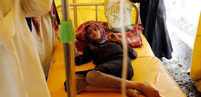 Yemen'deki kolera salgını için kampanya