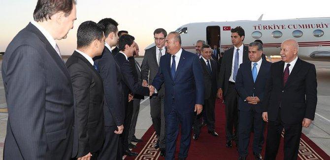 Çavuşoğlu Erbil'de