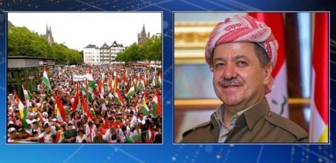 Barzani'den diasporadaki Kürtlere mesaj