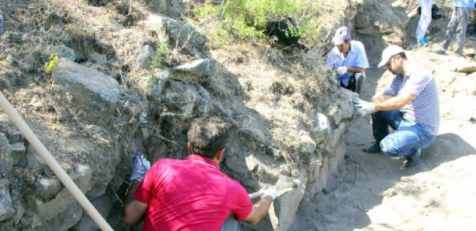 Elazığ'da 3 bin yıllık Urartu kalesi bulundu
