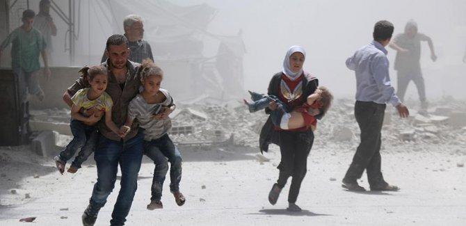 Rejim güçleri Doğu Guta'da çocukları vurdu