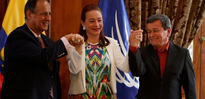 Kolombiya hükümeti,ELN örgütü ile ateşkes imzaladı
