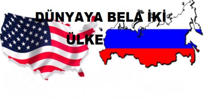 Rusya ABD Bardağı Taşırdı