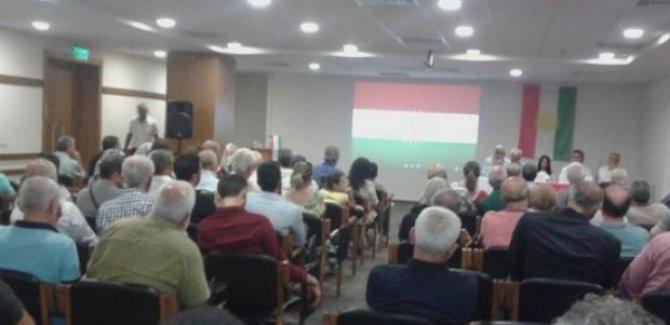 İzmir'de Kürdistan Bağımsızlık Referandumu konferansı