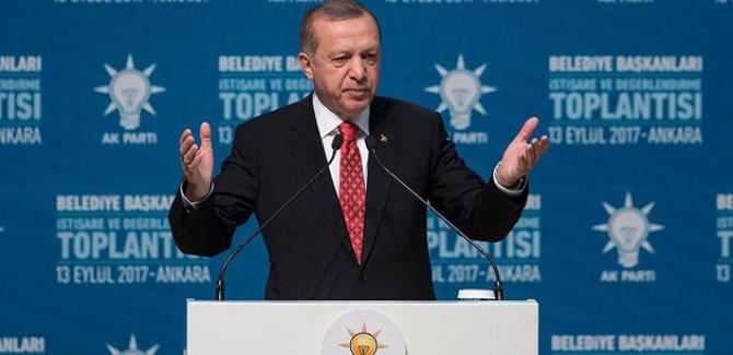 Cumhurbaşkanı Erdoğan'dan belediyelere 'heykel' mesajı