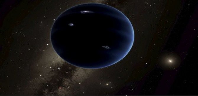 Siyah bir gezegen keşfedildi