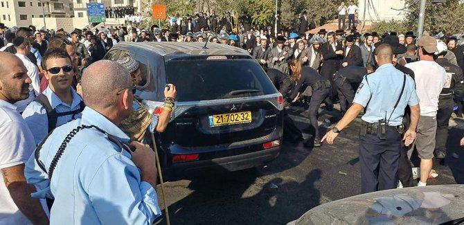 Haredi Yahudileri  polisle çatıştı