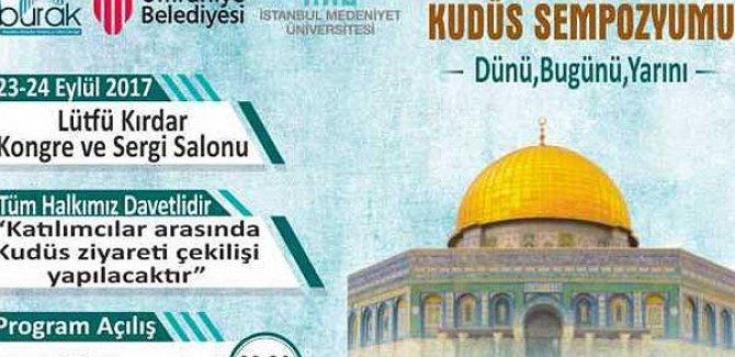 Uluslararası Kudüs Sempozyumu düzenleniyor