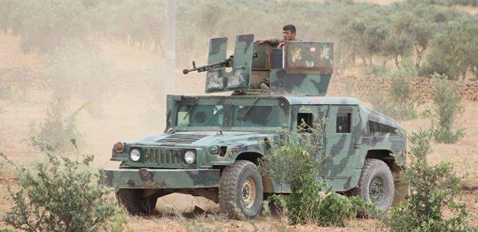 Amerîka 120 TIR çek û wesayît ji YPGê re şandin