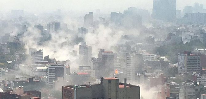 Meksika'da 7,1 büyüklüğünde deprem: 44 ölü