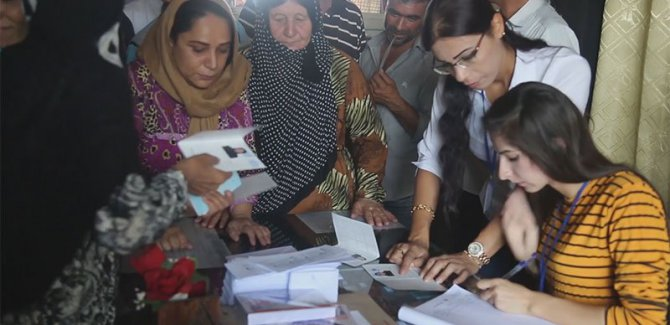 Rojava'da seçim heyacanı
