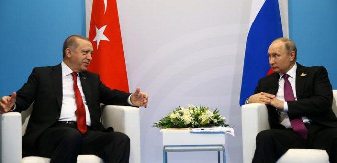 Dikkatler Erdoğan-Putin görüşmesinde