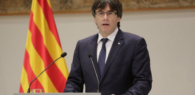 Katalonya Başkanı: Birkaç gün içinde bağımsızlık ilan edeceğiz