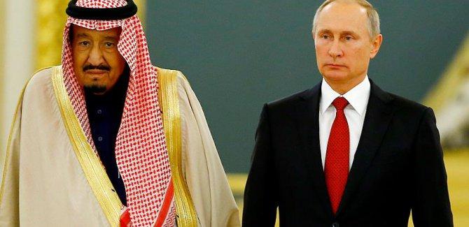 Rusya ile Suudi Arabistan askeri sistemler için anlaştı