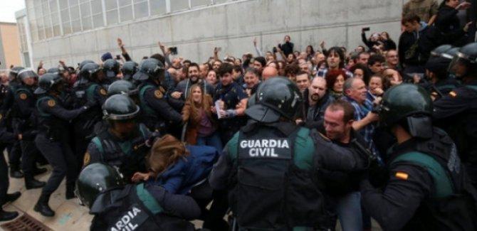 ''Şiddete AB sessiz kaldı, Türkiye'de olsa büyük öfke olurdu''