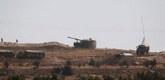 İdlib'e top atışı