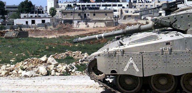 Teröristler tanklarla Gazze'ye saldırdı