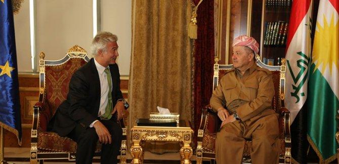 Başkan Barzani: Ön şartsız diyaloğa hazırız