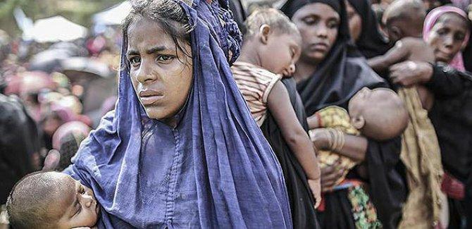 Arakanlı Müslümanları yok etmenin yeni aracı açlık