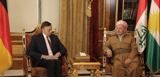 'Kürdistan'ın istikrarı Almanya için çok önemli'