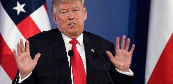 Trump: Medyanın her istediğini yazabiliyor olması iğrenç bir şey