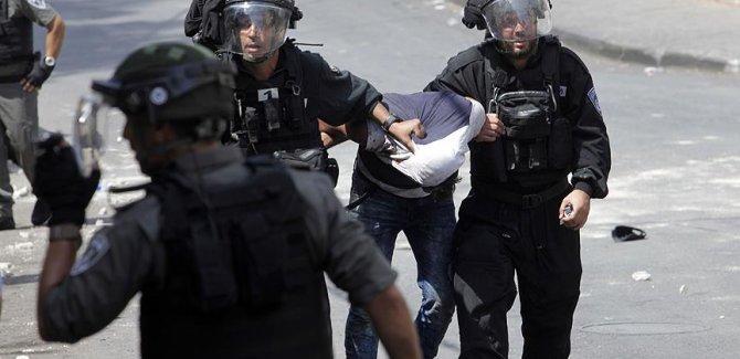 Doğu Kudüs'te 51 Filistinliyi gözaltına aldı