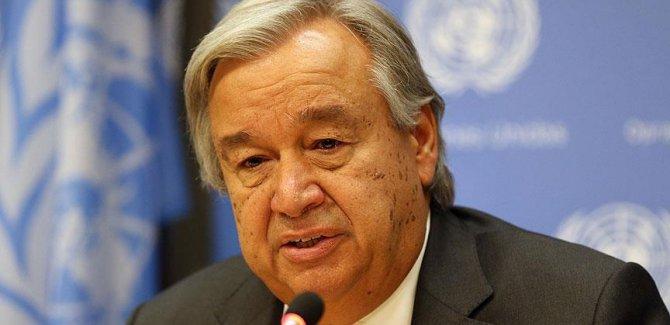 Guterres Orta Afrika'daki şiddete karşı 'birlik' çağrısı yaptı