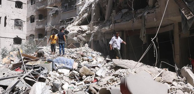 BM'den Doğu Guta'ya yardım açıklaması