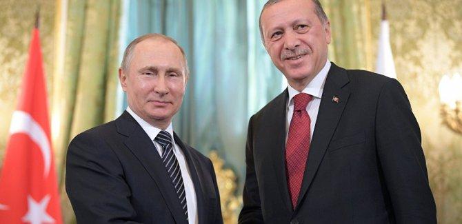 Erdoğan: Rusya'yla dayanışmamız Afrin'i de kapsayacak