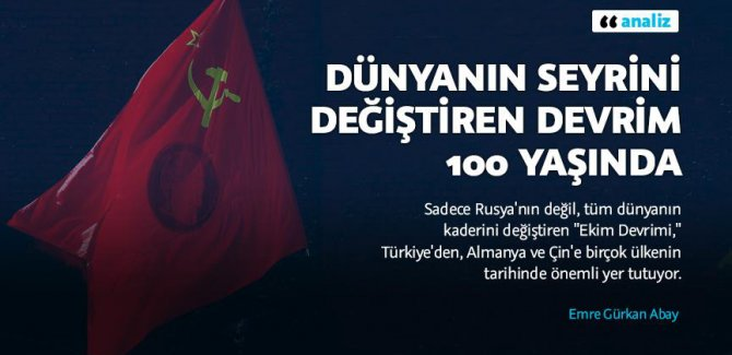Ekim Devrimi 100 yaşında
