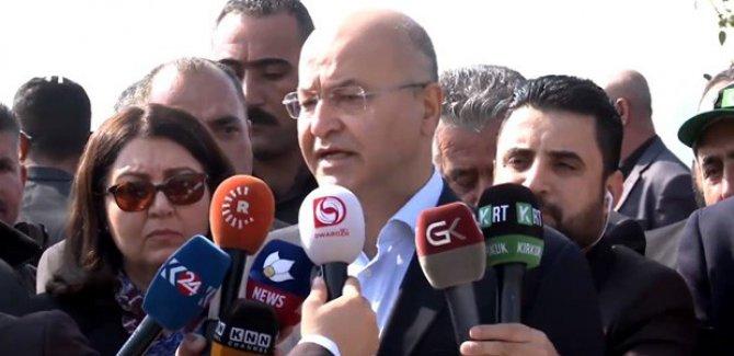 Berhem Salih: Halkımız büyük sorunla karşı karşıya