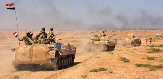 Irak ordusundan Suriye sınırına yeni operasyon