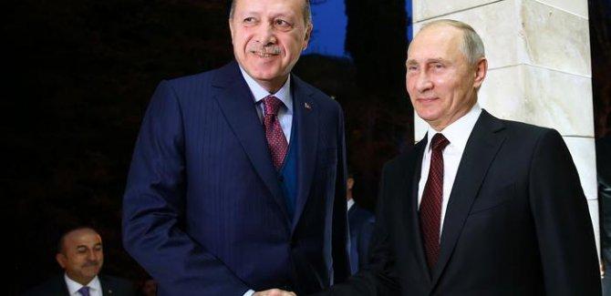 Erdoğan: Putin'le Suriye'de  mutabıkız