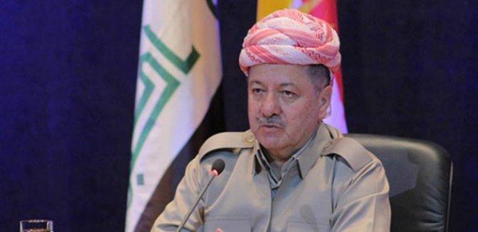 Barzani'den başsağlığı mesajı