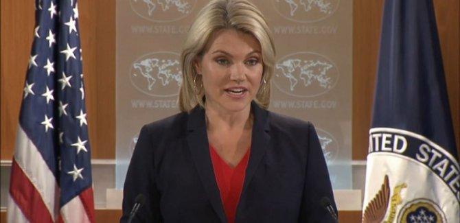 ABD: Erbil - Bağdat diyalogunu destekliyoruz