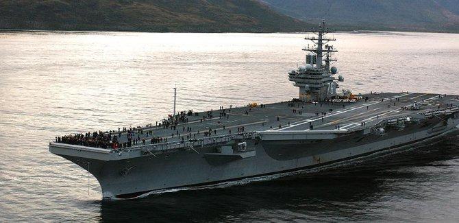 ABD uçağı Pasifik'te düştü