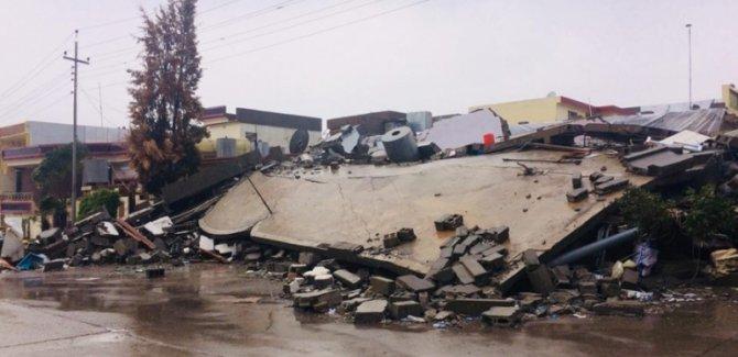 Derbendîxan'da bin 400'den fazla ev zarar gördü
