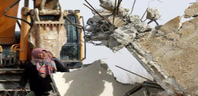 Siyonist İsrail'in yıkım kararı Kudüslü 138 aileyi evsiz bırakacak