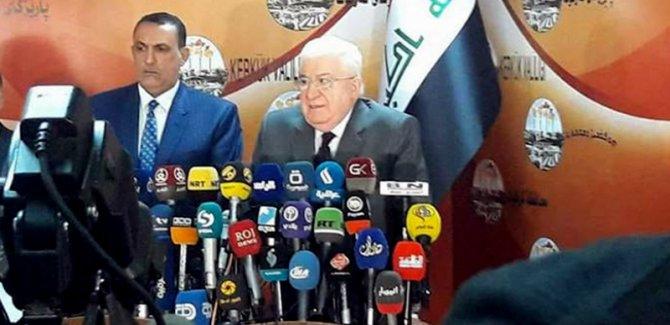 Irak Cumhurbaşkanı: 140'ıncı madde uygulanacak